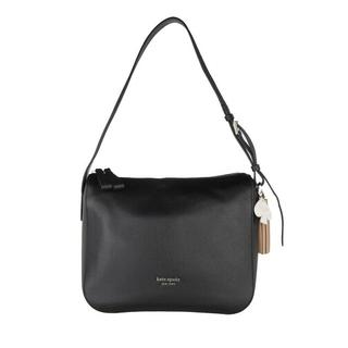 Satchels - Medium Shoulder Bag in zwart voor dames