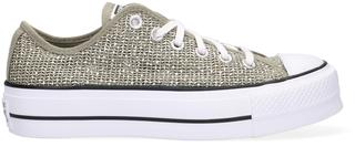 Groene Lage Sneakers Chuck Taylor All Star Lift Ox