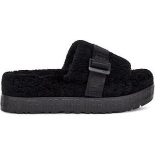 Fluffita Pantoffels voor Dames in Black