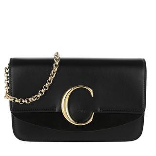 Cross Body Bags - C Clutch With Chain Black in zwart voor dames