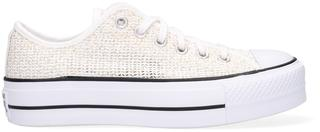 Witte Lage Sneakers Chuck Taylor All Star Lift Ox