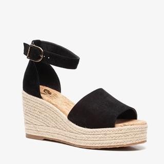 vegan dames sleehak sandalen