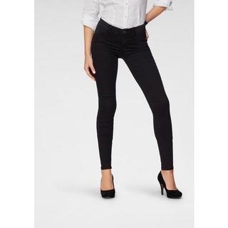 skinny fit jeans Ultra Stretch Low Waist met stretchinzetten opzij bij de band
