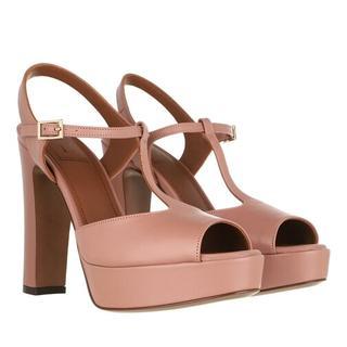 Sandalen - Heel Sandals Lamb Leather in roze voor dames