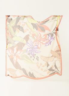 Sjaal van zijde 105 x 105 cm