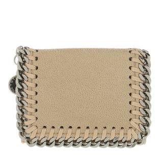 Portemonnees - Falabella Mini Wallet Leather in wit voor dames