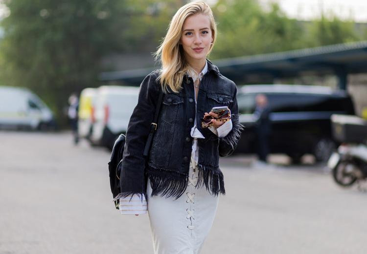 3 redenen om een zwarte spijkerjas te dragen