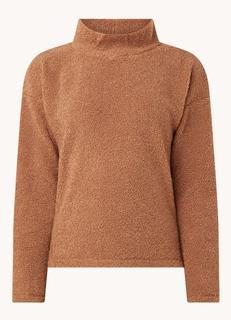 Gabri sweater van teddy met col