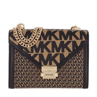Cross Body Bags - Whitney Shoulder Bag Khaki in bruin voor dames