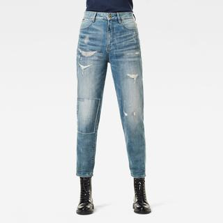 Janeh Ultra High Mom Ankle Jeans - Mom Fit - Taillehoogte Ultrahoog