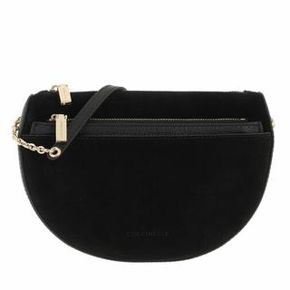 Crossbody bags - Mini Bag Mini Bag Bottalatino Leather in zwart voor dames