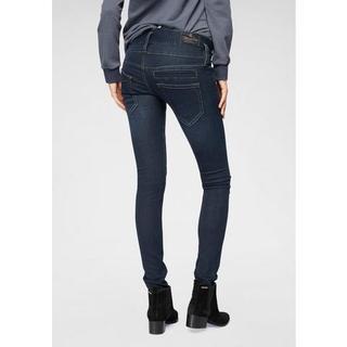 skinny jeans PITCH SLIM REUSED DENIM Low Waist ultimate-stretch met licht push-upeffect