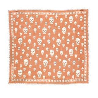 Sjaals & halsdoeken - Logo Printed Scarf in bruin voor dames