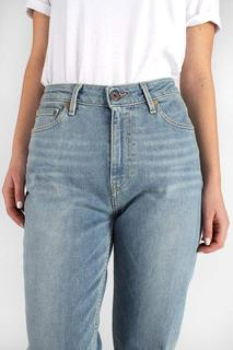 Nora Loose Tapered Faded Blue   Denim