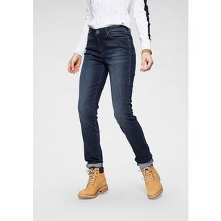 Slim fit jeans High waist Duurzame, waterbesparende productie door OZON WASH