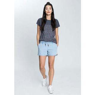 T-shirt trendy lang shirt met strepen of motieven