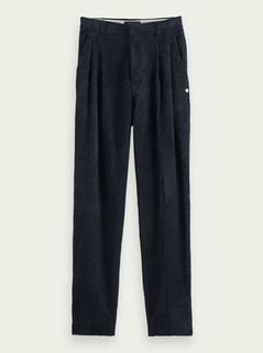 Corduroy broek met wijde pijpen