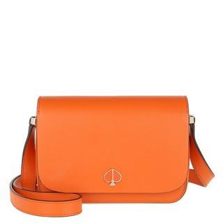 Crossbody bags - Small Flap Shoulder Bag in oranje voor dames