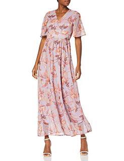 Vmnabila Ss Long Flower Dress Eid Jurk