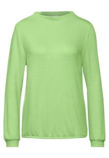Shirt in effen kleur