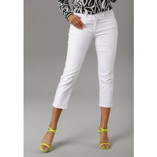straight jeans in verkorte cropped lengte
