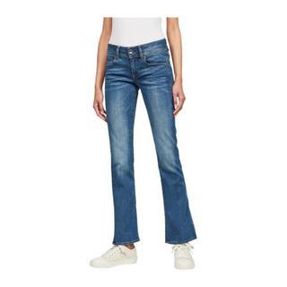 D01896 6553 Midge Bootcut Jeans Women Denim Medium Blue