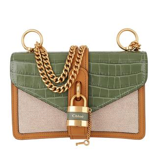 Cross Body Bags - Aby Shoulder Bag Leather Misty Forest in cognac voor dames