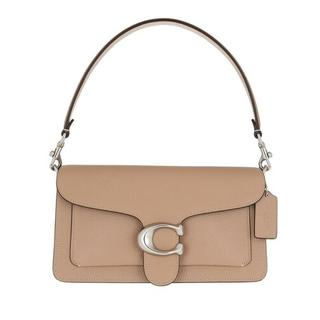 Crossbody bags - Polished Pebble Leather Tabby Shoulder Bag 26 in taupe voor dames