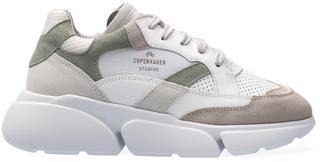 Groene Lage Sneakers Cph555