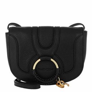 Crossbody bags - Hana Mini Crossbody Bag Smooth in zwart voor dames