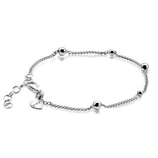 zilveren fantasie armband 17-20 cm ZIA987