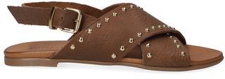 Bruine Slippers 10380