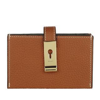 Portemonnees - Alil Card Holder in bruin voor dames