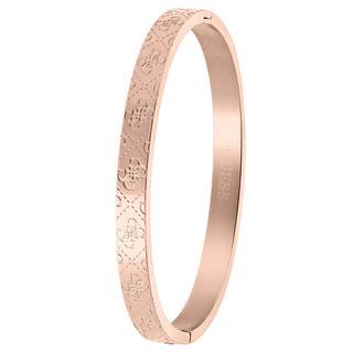stalen roseplated bangle armband 4G logo