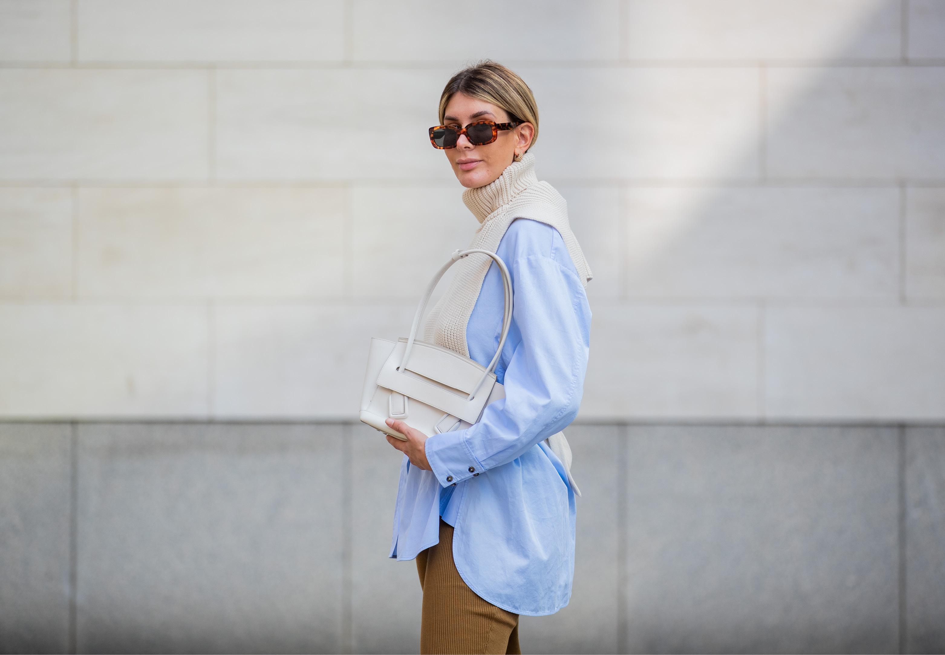Gespot: de witte tas is een trend om in te investeren