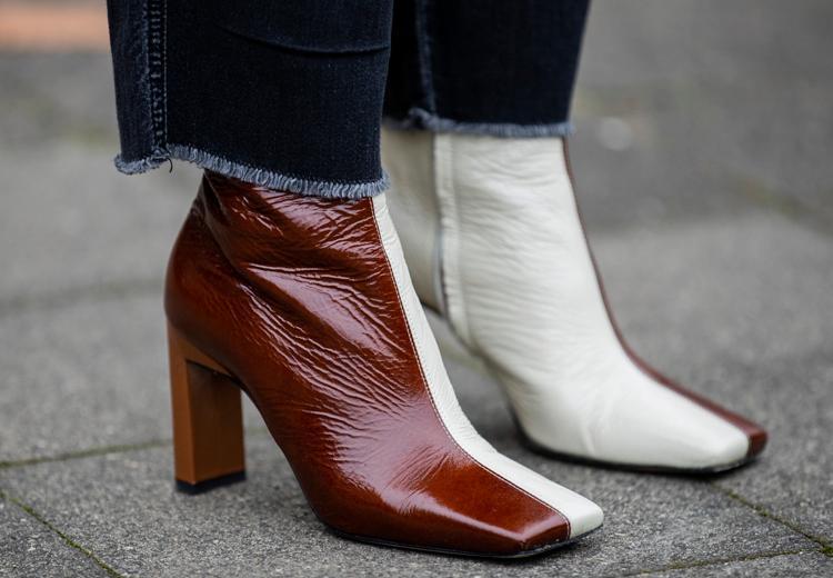 Trend gespot: schoenen met een vierkante neus