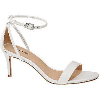 Witte sandalette
