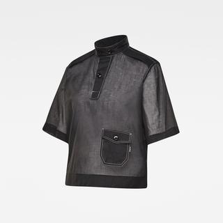 E Swedish Collar Shirt - Straight Fit