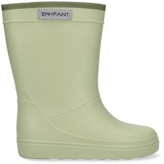 Groene Regenlaarzen Rubber Rain Boot Solid