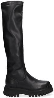 Zwarte Hoge Laarzen Groov-y 14211