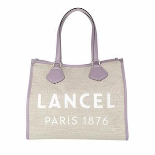 Totes - Summer Jute Canvas And Smooth Leather Tote Large in beige voor dames