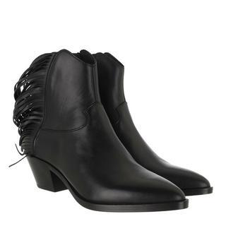 Boots & laarzen - Mustang Bootie Leather in zwart voor dames