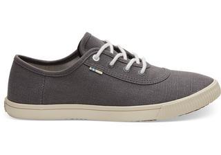 Grijze Canvas Carmel Sneakers Voor Dames Schoenen