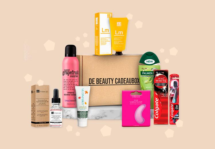 Verwen jezelf met een bomvolle beauty cadeaubox voor €24,99