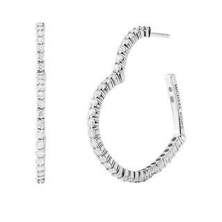 Oorbellen - Kors Love Earrings in zilver voor dames