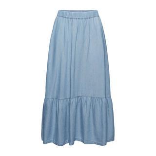 edc Women rok met plooien lichtblauw