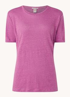 T-shirt van linnen
