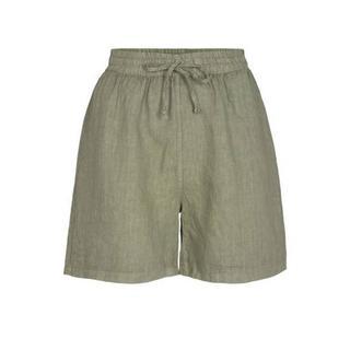 broek met textuur groen