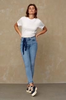 CHRISTINA HIGH jeans Female - Light Blue