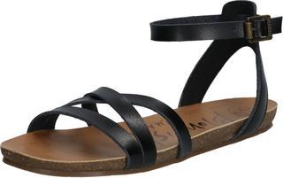 sandalen met riem galie